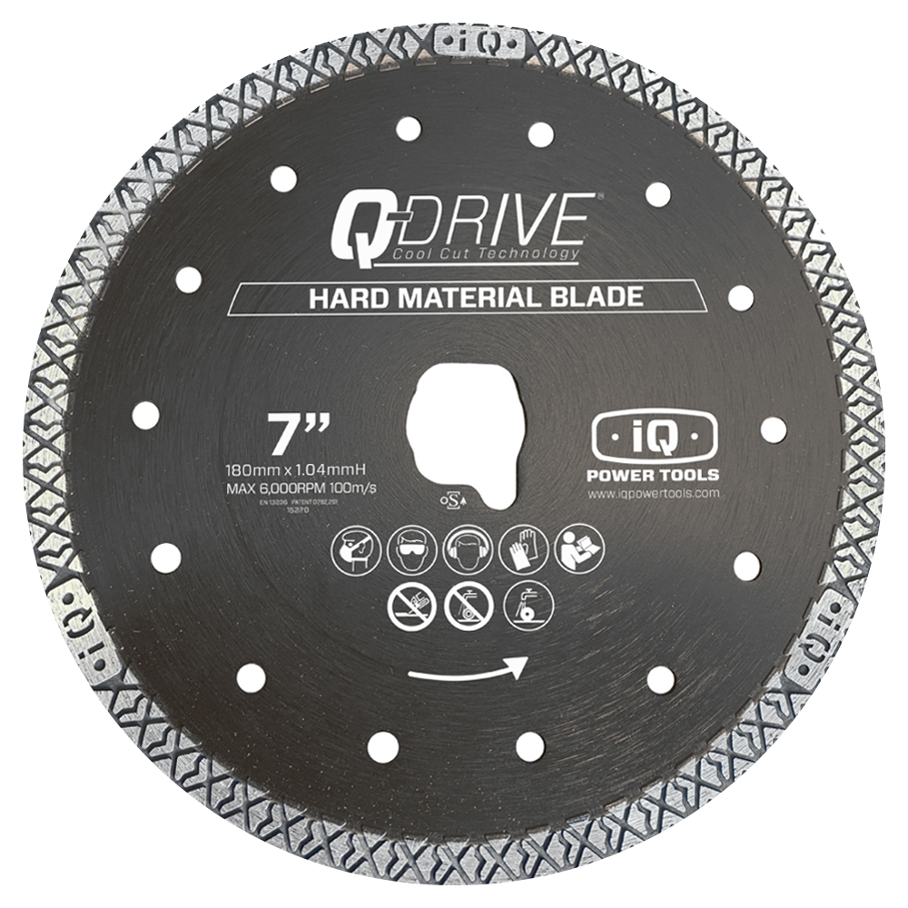 "iQ 7"" Hard Material Saw Blade"