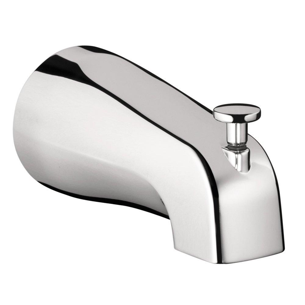 Chrome Tub Spout with Diverter - Schillings