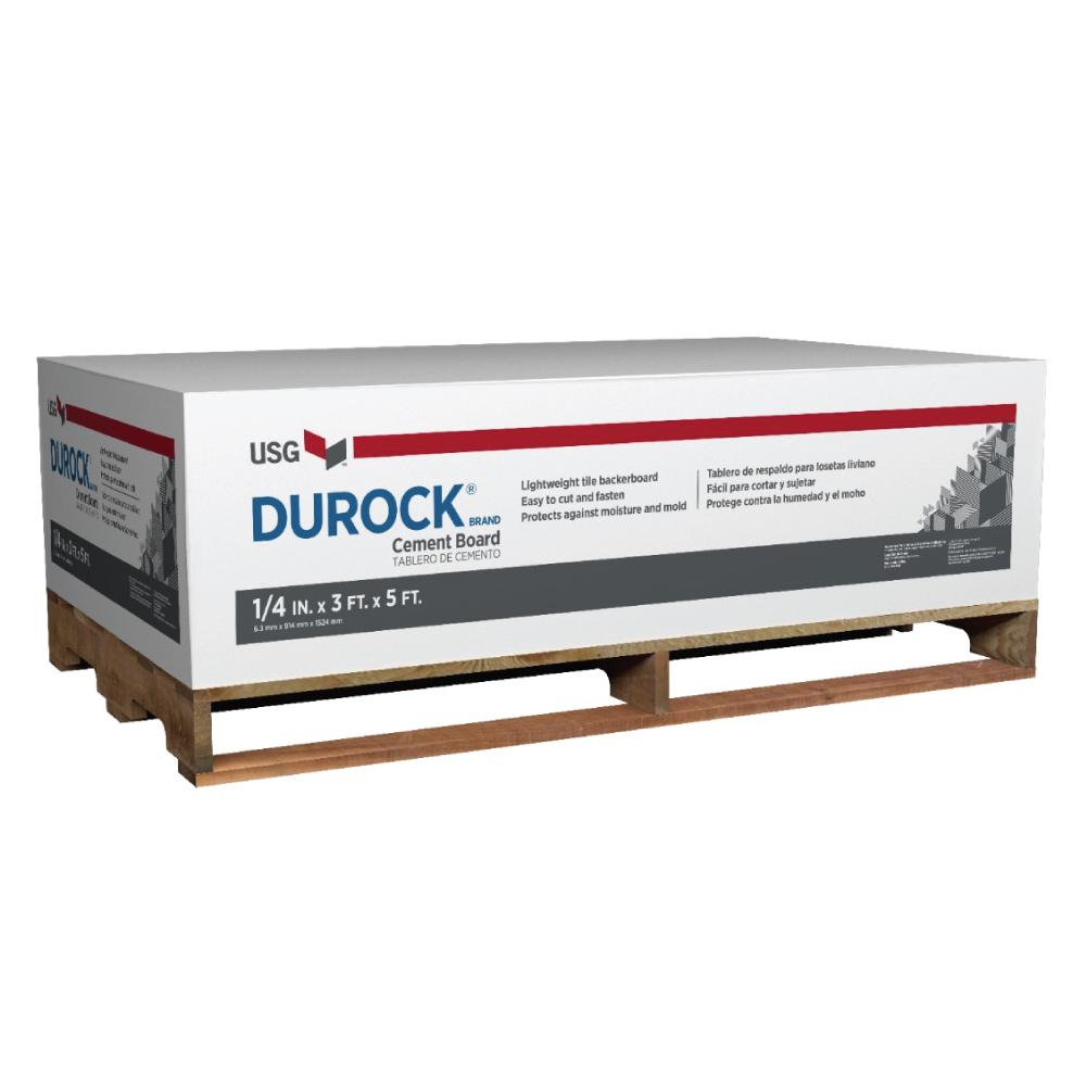 "Durock 1/4"" Cement Board"