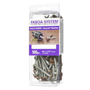 deckfast fascia screws 100 pack