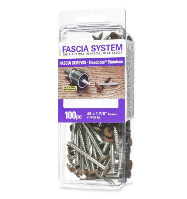 deckfast fascia screws 100 pack