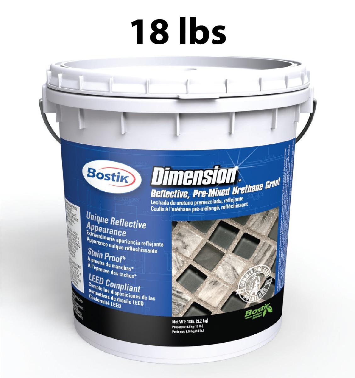 Bostik Dimensions Hematite Premixed Grout 18 Lb Schillings