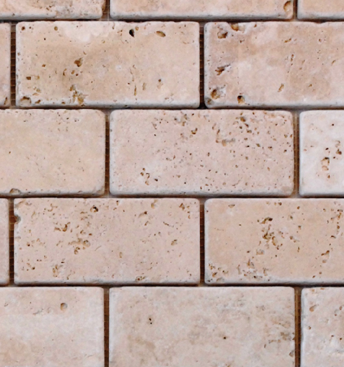 brick tile backsplash travertine anatolia tile brick mosaic
