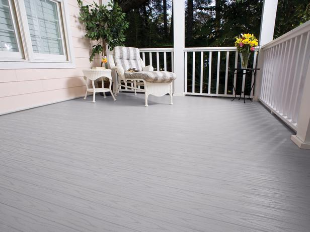 Azek Harvest Collection Slate Gray Deck Schilling