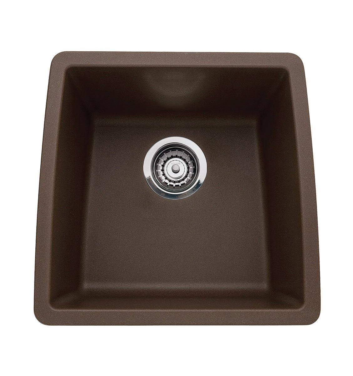 Blanco 440078 Performa Silgranit II Single Bowl Sink, Caf? Brown ...