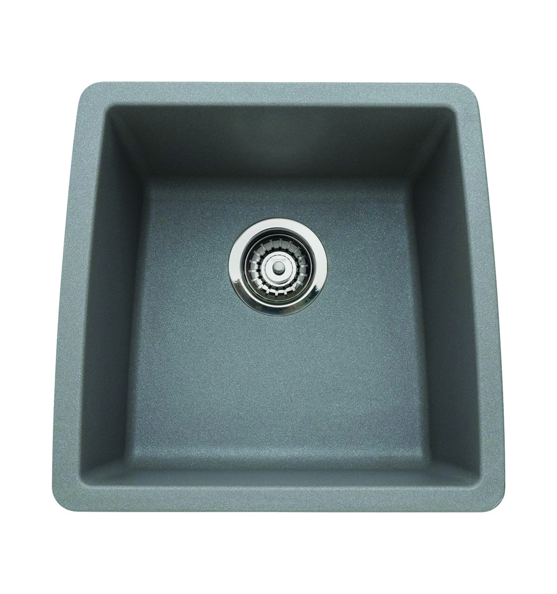 Silgranit Sink : Blanco 440082 Performa Silgranit II Single Bowl Sink, Metallic Gray ...