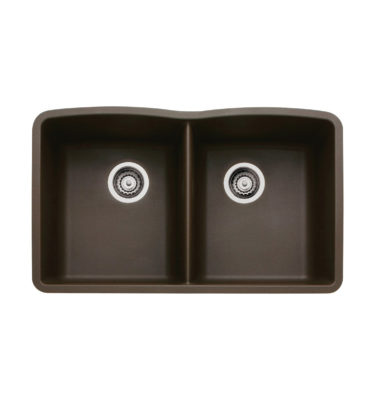 Blanco 440182 Diamond Silgranit II Double Bowl-01