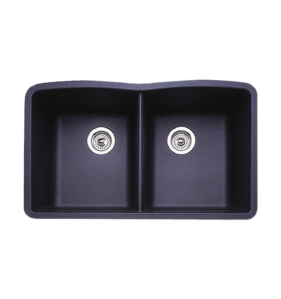 Blanco Kitchen Faucet Reviews Blanco 440184 Diamond Silgranit Ii Equal Double Bowl Anthracite
