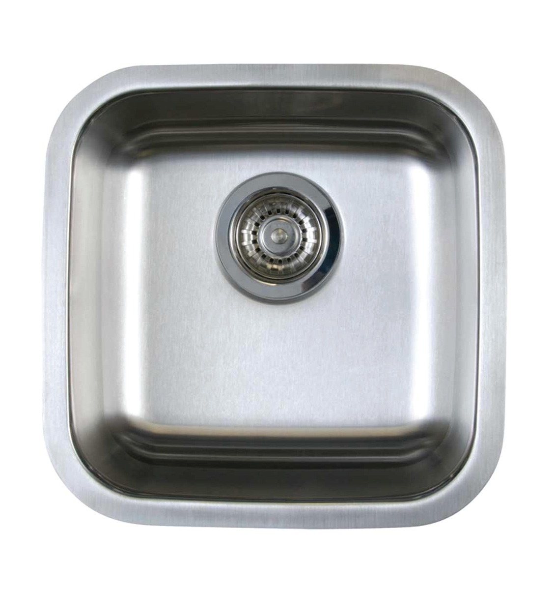 Blanco Single Sink : ... Sinks / Blanco 441026 Stellar Bar Single Bowl Sink, Stainless Steel