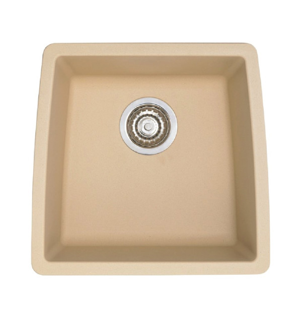 ... Sinks / Blanco 441224 Performa Silgranit II Single Bowl Sink, Biscotti