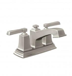 Moen 84800SRN Boardwalk Two-Handle Centerset Bathroom Faucet, Brushed Nickle Finish-01