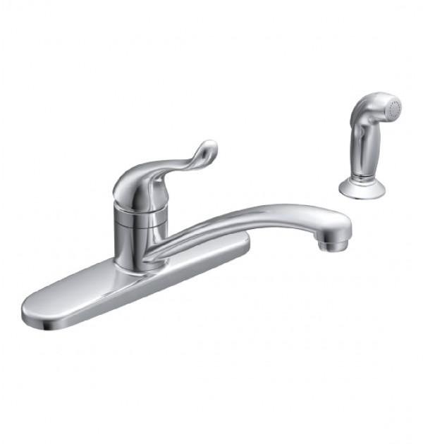 Moen Ca87530 Adler One Handle Low Arc Kitchen Sink Faucet