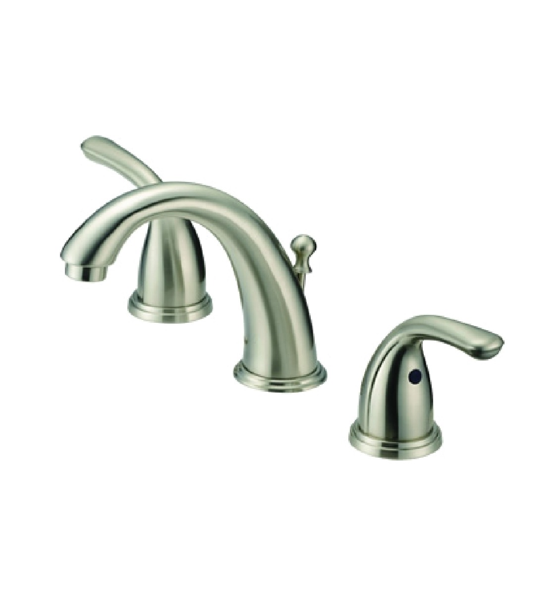 Silver Oak P20262 15 6 12 Two Handle Widespread Lavatory Faucet Nickel F
