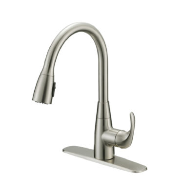 Silver Oak P22102-15 Single Handle Pull-Down Faucet-01