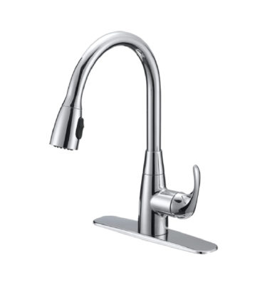Silver Oak P22102-26 Single Handle Pull-Down Faucet-01