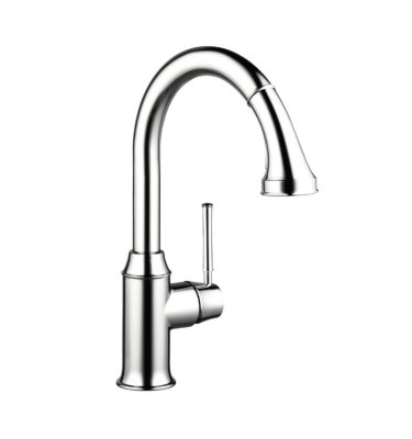Hansgrohe 04215000 Talis C 2-Spray HighArc Kitchen Faucet-01