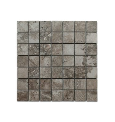 homestead grey porcelain mosaic emser in stock tile