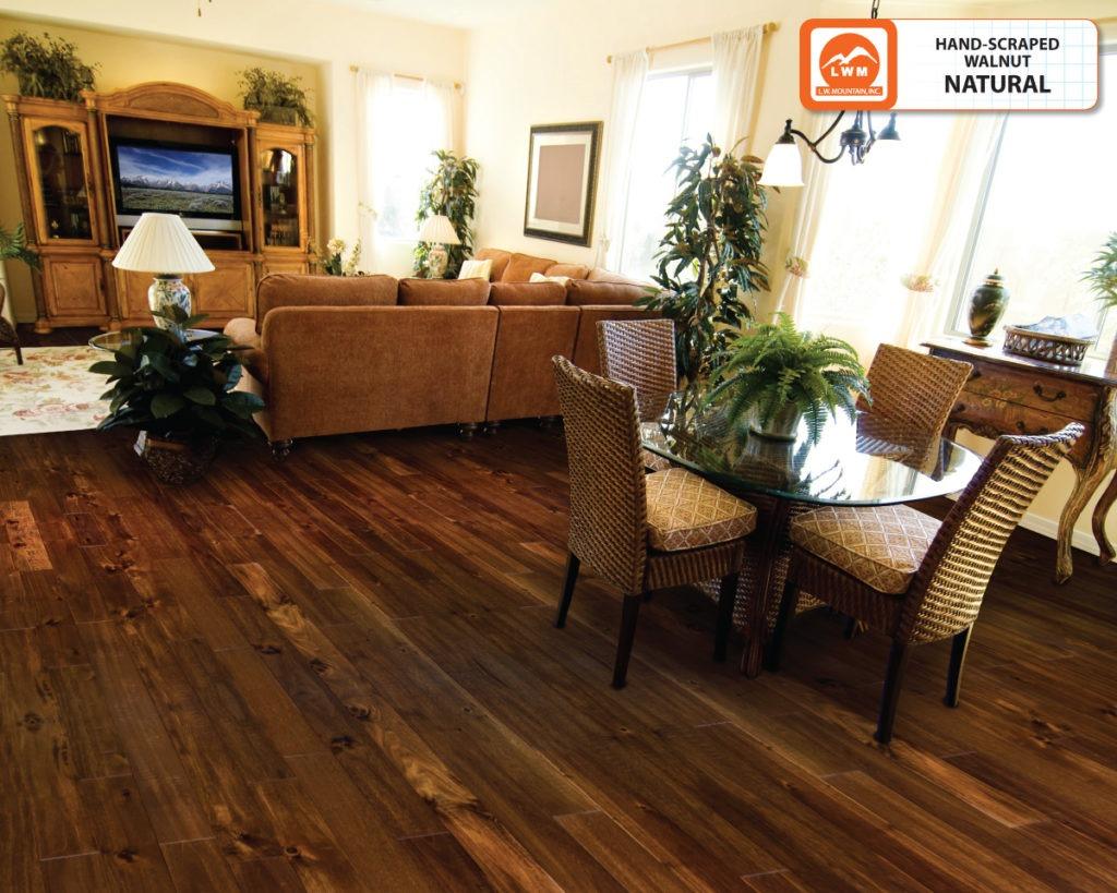 3 4 Hardwood Flooring american 4 1516 X 34 Maple Mahogany Handscraped