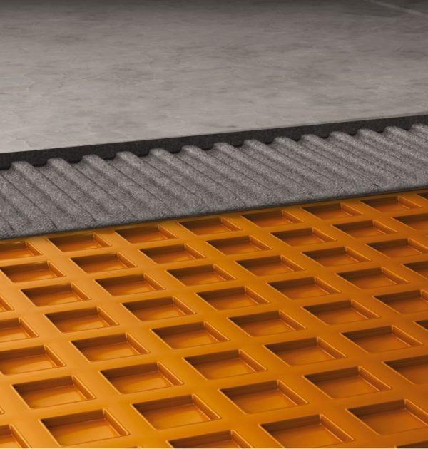 Ditra Waterproof Membrane : Schluter ditra waterproof membrane tile underlayment