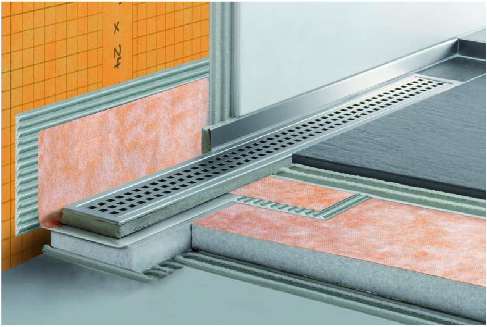 Schluter Systems K Line 32 Quot Bonding Shower Flange Schillings