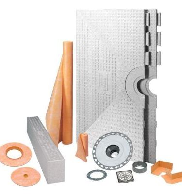 "Schluter Systems Kerdi Shower Kit 48"" x 48"" Center Drain"