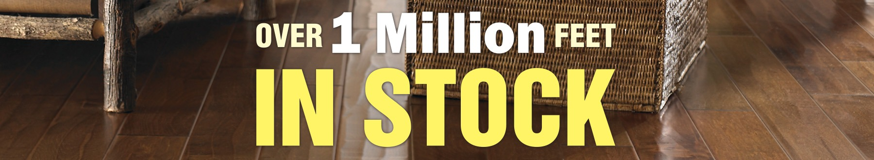 1 million feet in stock flooring