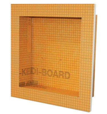 small kerdi shower niche