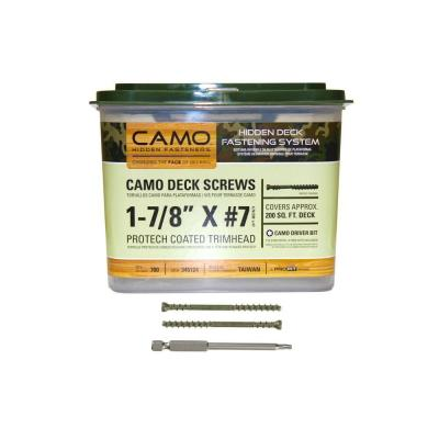 1-7/8 in. ProTech Coated Trimhead Deck Screw (700-Count)