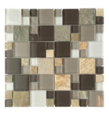 glass tile mosaic backsplash AL1304