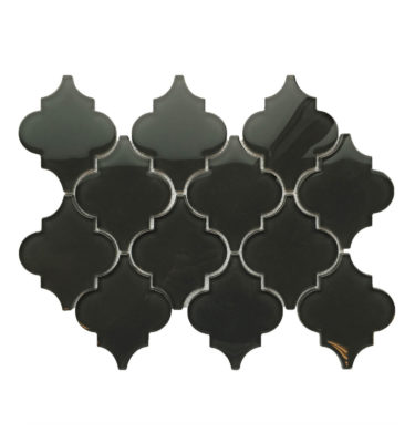 Lantern glass mosaic sheet backsplash