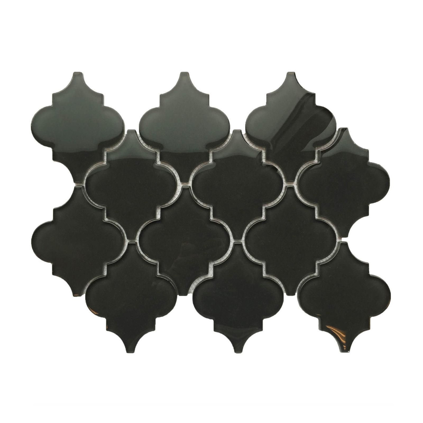 Lantern glass mosaic sheet backsplash