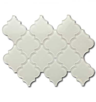 lantern glass mosaic backsplash