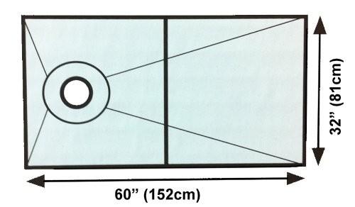 Kerdi Shower Kit 32 Quot X 60 Quot Off Center Drain Schillings