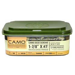 camo protech coated decking fasteners