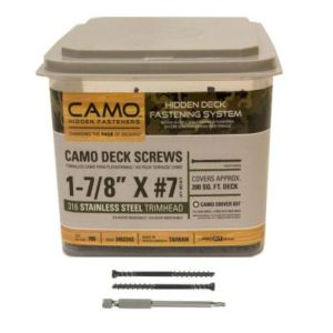 camo stainless steel 200 sq-ft bucket