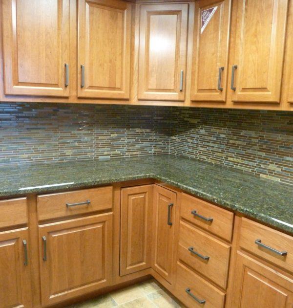al2650 glass tile and stone rustic slate mosaic backsplash