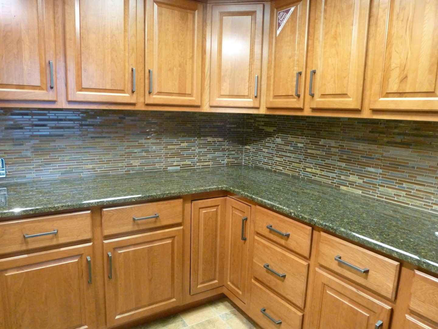 al2650 glass tile and stone rustic slate mosaic