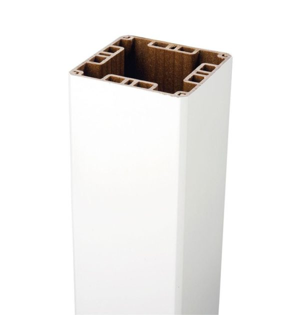 Trex White Composite Post Sleeve 4 Quot X 4 Quot X 108 Quot Schillings