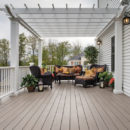 Azek Silver oak arbor collection pvc decking