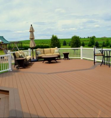 Brown Oak Timbertech Composite decking