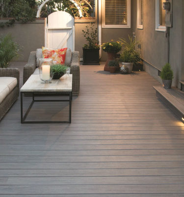 Timbertech legacy Ashwood composite decking