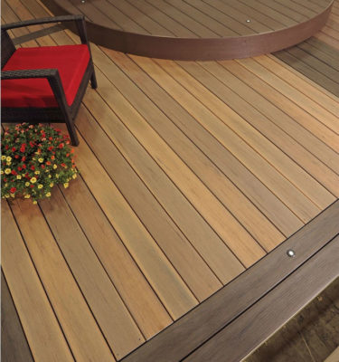 Timbertech Tigerwood legacy composite decking