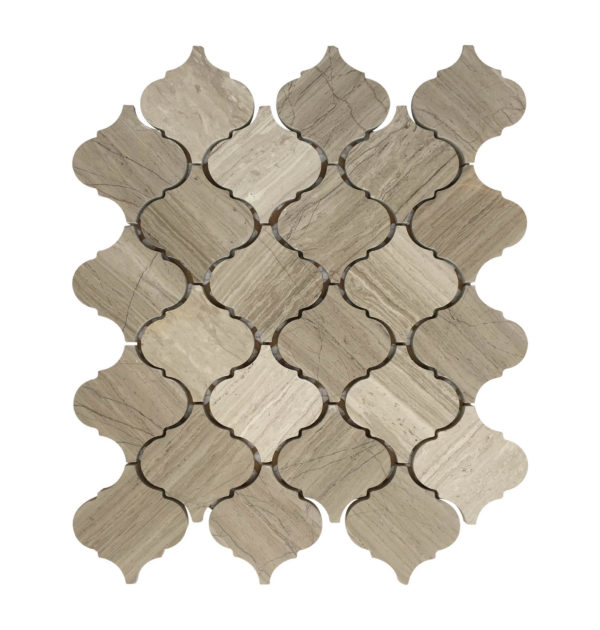 lantern porcelain mosaic backsplash