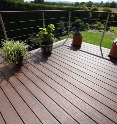 Trex Lava Rock composite decking