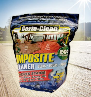 Corte Clean Composite deck cleaner