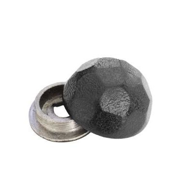 Ozco 1¼″ Hammered Dome Cap Nut 10 pack 56622