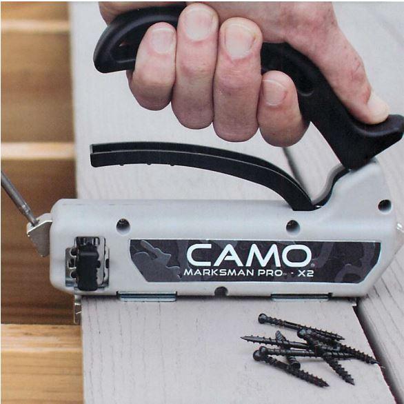 camo azek tool in use
