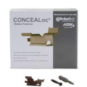 concealoc hidden fastener system 100 sq ft box