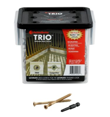 trio decking screws