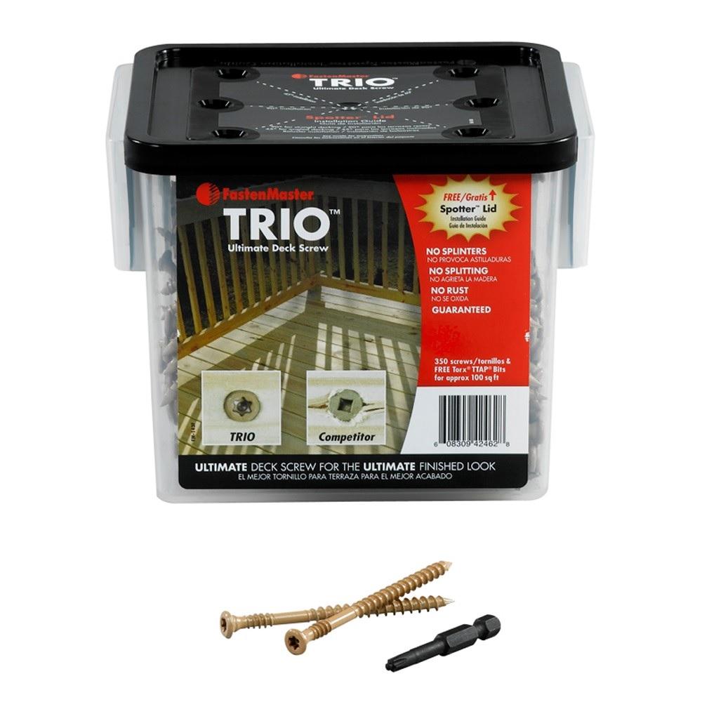 trio decking screws